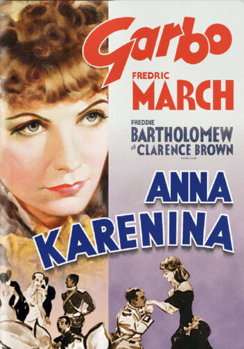 A3 SIZE Greta Garbo 1935 Anna Karenina Vintage Cinema Film Old Poster
