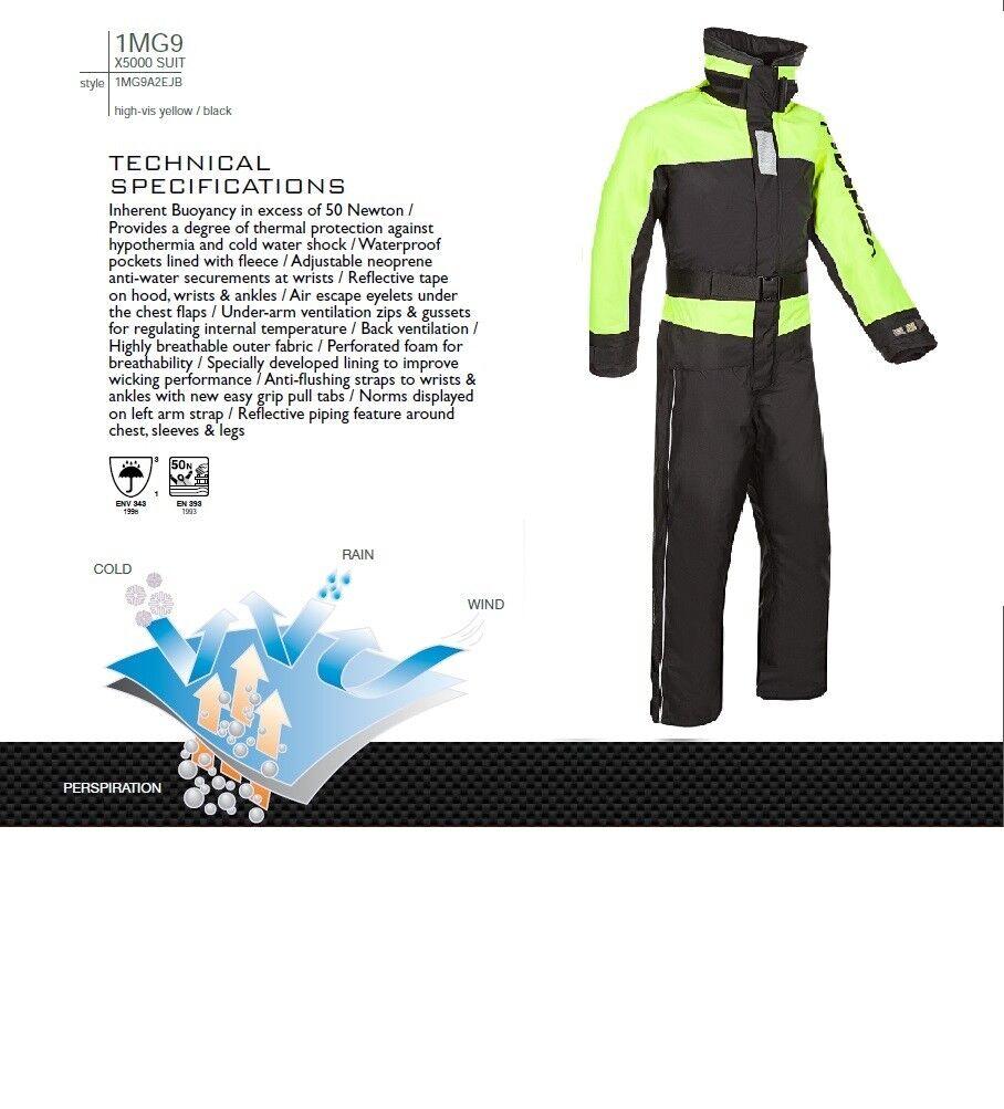 Mullion 1MG9 x5000  Schwimmanzug, Floatinganzug - Atmungsaktiv  Gr.S bis 3XL  discount sale