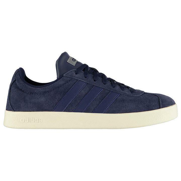 Adidas VL Court 2 Trainers Mens UK 10 nos 10.5 EUR 44.2 3 ref 2788