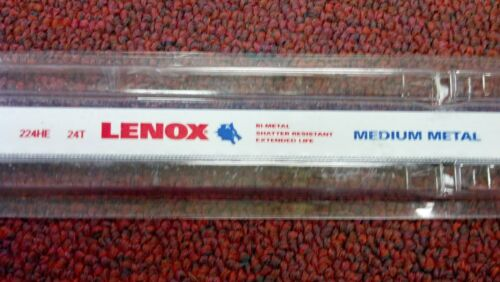 """1 Hack Saw Replacement Blade Part# 20145 12/"""" x 24 Teeth Per /"""", LENOX ONE"""