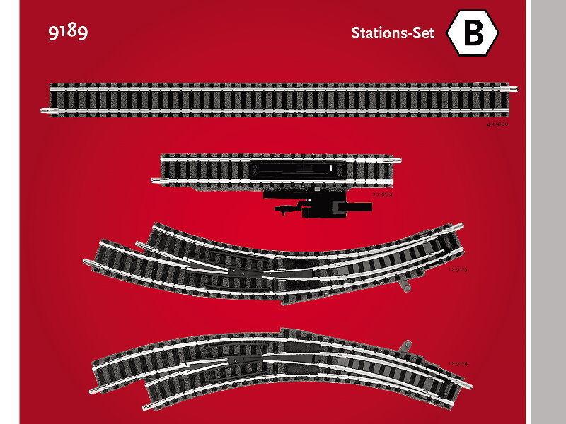 Fleischmann 9189 - Stationer - Set - Spur N - NEU