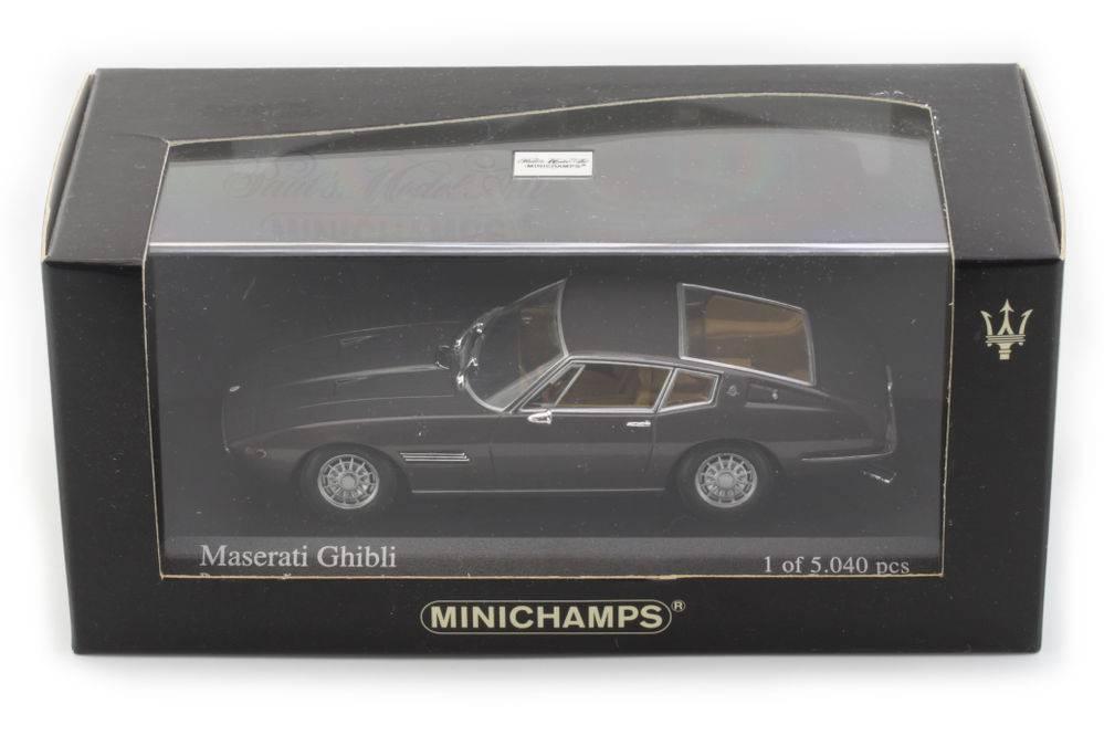 Maserati Ghibli 1969 marron Metallic 400123320 1 43 Minichamps