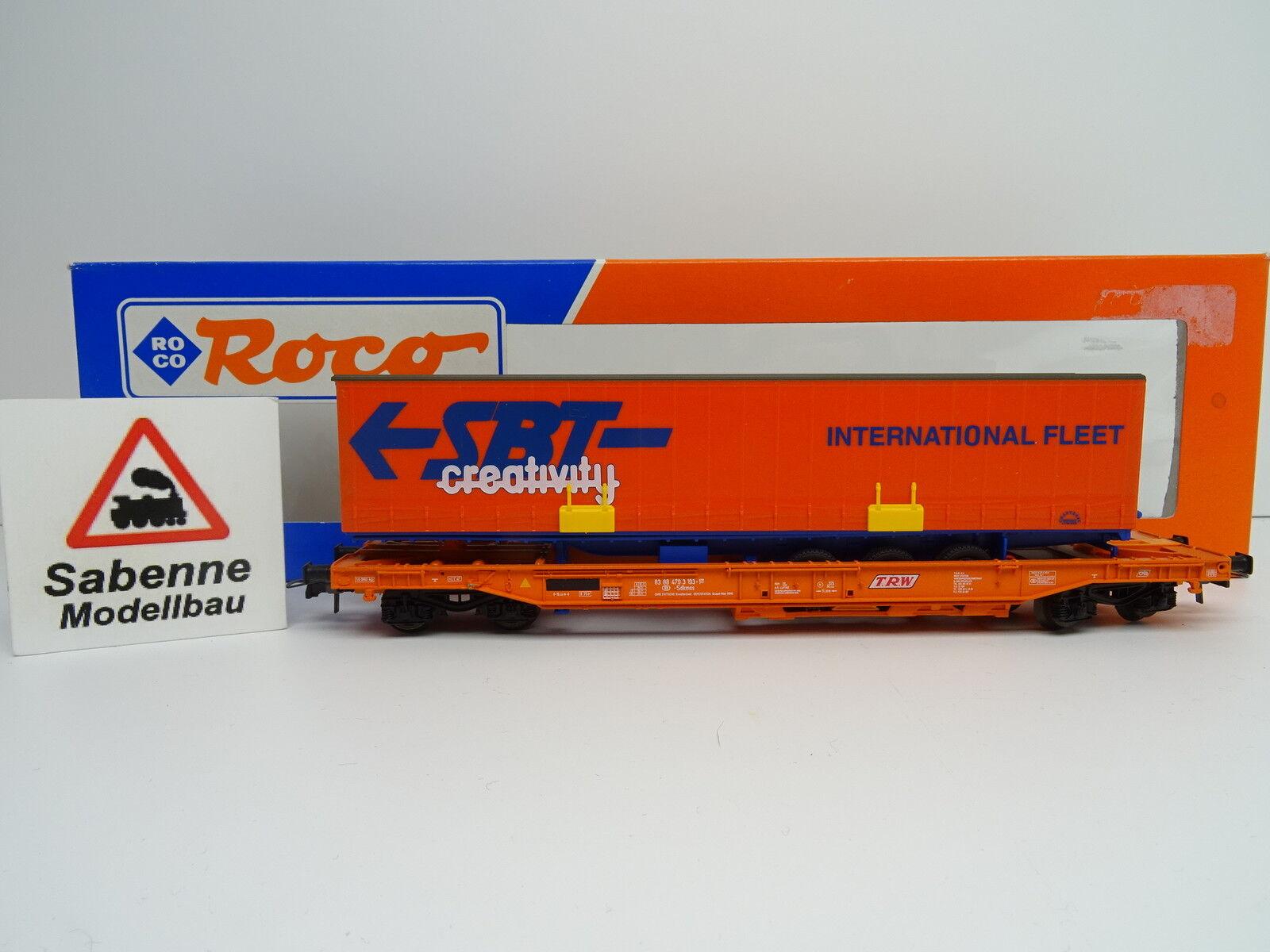 Roco h0 46375 unidad bolsillos Cochero SNCB  SBT Creativity  OVP m1011 raras