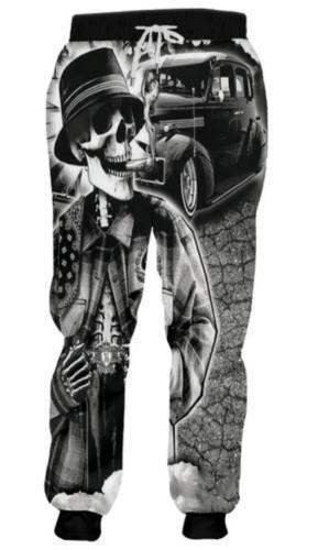 skull head 3D Print Women//Men/'s Autumn Winter casual Jogger Pants Sweatpants CT8
