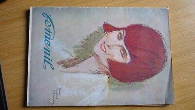 Frauenzeitschrift Feminil – Buenos Aires Argentinien 1928, Mit Schnittmusterboge Angenehm Im Nachgeschmack