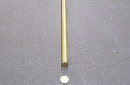 """1 Unit //-.003/"""" x 72.0/"""" Length Details about  /360 Brass Rod 13//16/"""" Diameter"""