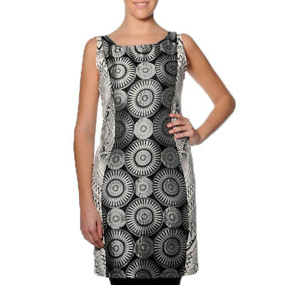 Smash Barcelona S-XXL UK 10-18 RRP ?38.50 Jurema Dress Black /& White Fitted