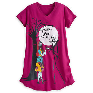 5d9a7aa61c JACK SALLY FITTED NIGHT SHIRT WOMEN DISNEY STORE The Nightmare ...