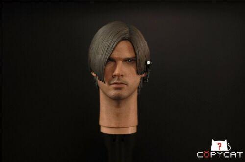 1//6 Resident Evil Leon Male Custom Head Sculpt Fit 12/'/' Man Hot Figure Body Toys