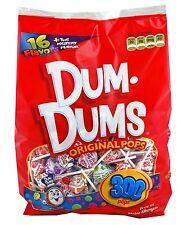 DUM DUMS Lollipops 300 Count Bag Pops Candy NEW FREE SHIPPING