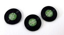 Maison De Poupée Salle Musique Miniature Accessoire Lot 3 1:12 échelle Records