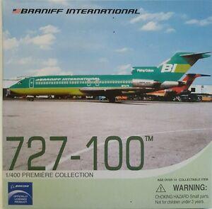 Dragon Wings Braniff International 727-100 RED 1:400