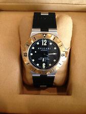 221cffe7704 Bvlgari SD38S Diagono Scuba Chronometer 200m Automatic Date Watch ...
