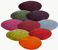 9+Colors Plain Round Velvet Style Cushion Cover/Pillow Case*Custom Size