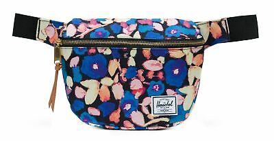 Herschel Fifteen Hip Pack Borsa Painted Floral Blu Giallo Nuovo-