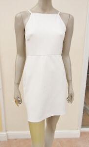 """oh My Love"" - Bnwt - Womens Light Cream Strappy Open Back Dress - Size M/l"