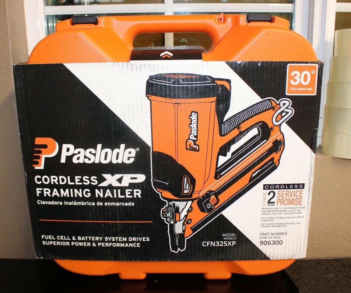 PASLODE Cordless XP Framing Nailer CFN325XP/906300. Buy it now for 330.00