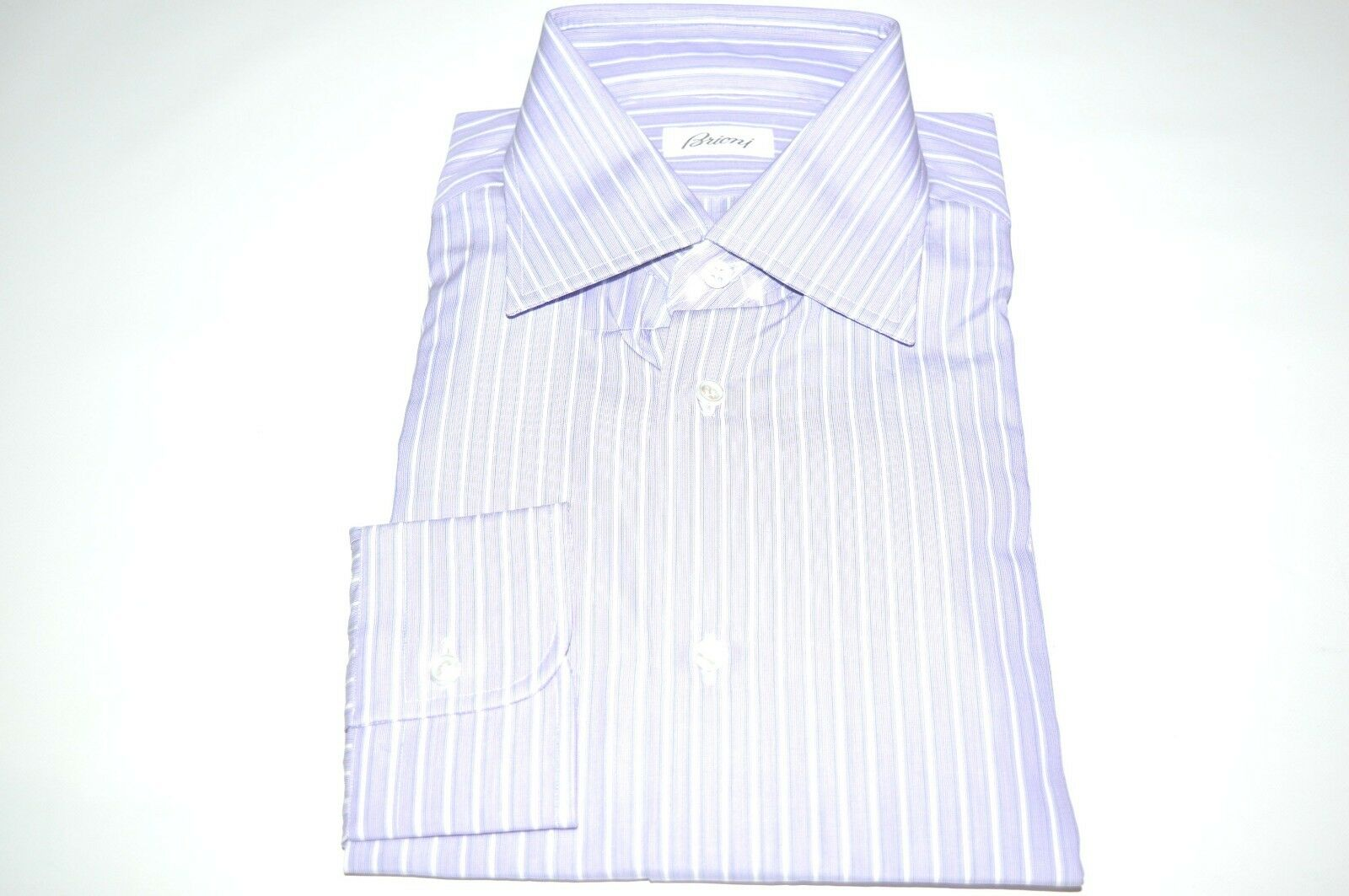 NEW  BRIONI Dress  hemd 100% baumwolle Größe 16.5 Us 42 Eu  (ARA6)