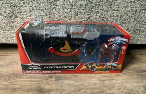 Bandai Power Rangers Ninja MEGA IN ACCIAIO Morph DX Stazione DA BATTAGLIA-NUOVO e SIGILLATO