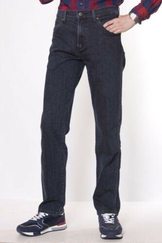 Wa135 Texas Jeans Straight Lava Ex seconds Mens Wrangler Fit Blue Stretch 6qEpvH