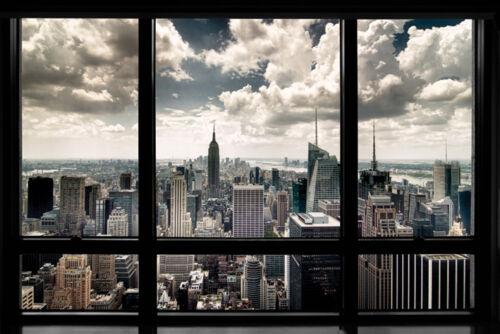 Premium-Poster Wolkenkratzer in New York City USA