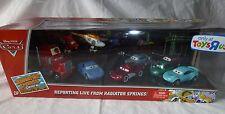 Disney Pixar Cars Radiator Springs Classics Reporting Live 9 Pack NEW Mattel
