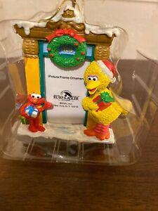 Kurt-Adler-Sesame-Street-Elmo-Big-Bird-Holiday-Picture-Frame-Christmas-Ornament