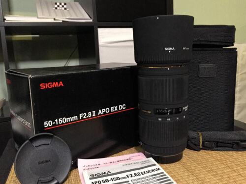 1 von 1 - Sigma EX 50-150 mm F/2.8 II APO HSM AF DC für Sony A-Mount -1A Zustand & selten-