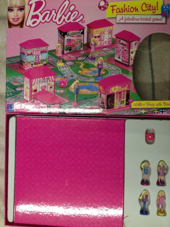 Barbie Fashion city, Familie spil, brætspil