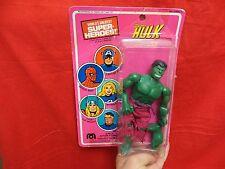 """1970's VINTAGE  MEGO SUPER HERO     """" INCREDIBLE HULK """"   W/PACKAGE FOR REPAIR"""