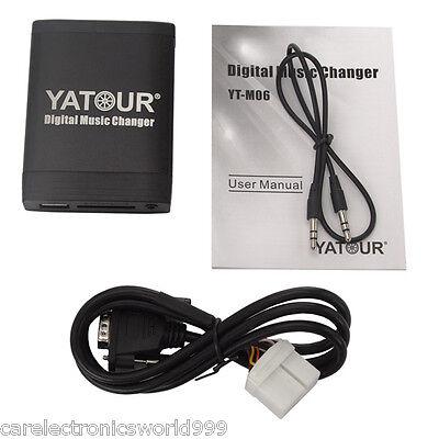 Yatour Car Digital Music Changer USB SD MP3 for Honda Civic CRV Accord Acura