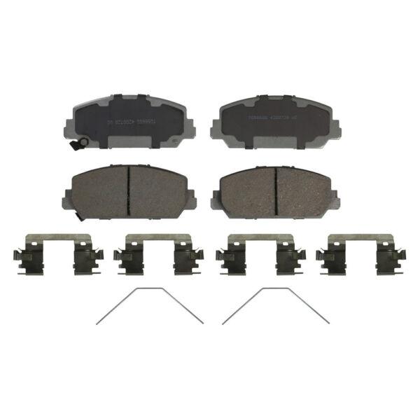 Disc Brake Pad Set-ThermoQuiet Disc Brake Pad Front
