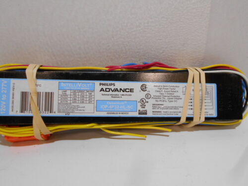 Philips Advance Optanium IOP-4P32-HL-SC 120v-277v Instant Start Ballast