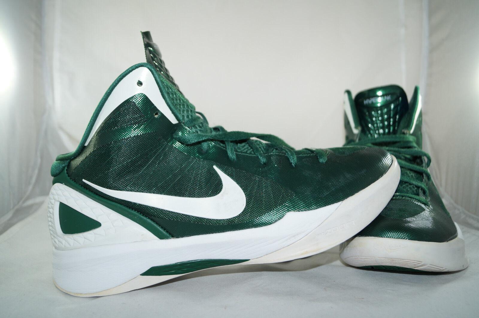 Nike Hyperdunk 2011 Gr: 45,5 - 44,5 Metallic Grün Basketball Mid High Tops