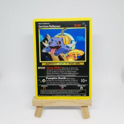 Gerritsen Bulbasaur-Custom Pokemon Card