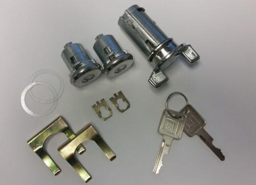1977-1978 Impala /& Caprice Door /& Ignition Lock set w// late GM stamped Keys