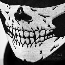 Skull Balaclava Biker Face Mask Gator Black Skeleton Motorcycle Harley Davidson
