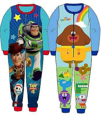 5yrs Micro Polaire Garçons Toy Story 4 All in One Sleepsuit pyjama 18 mois