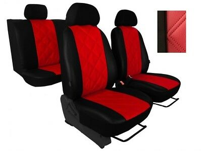 FOR VAUXHALL ASTRA DTI VAN WATERPROOF SEAT COVERS BLACK 1+1