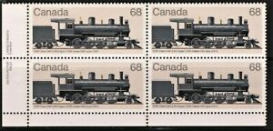 Canada-Stamp-1074-Canadian-Locomotives-CGR-Class-H4D-2-8-0-type-1985-68