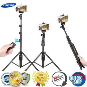 Extendable-Monopod-Tripod-Bluetooth-Remote-Shutter-Selfie-Stick-Mobile-Phones-UK