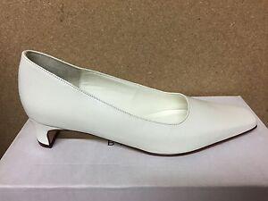 La Imagen Se Está Cargando Zapatos De Cuero Marfil Traje Novia Dama