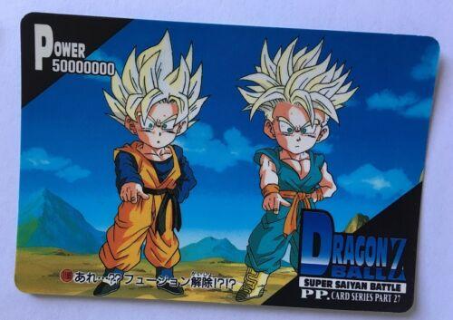Dragon Ball Z PP Card PART 27-1189