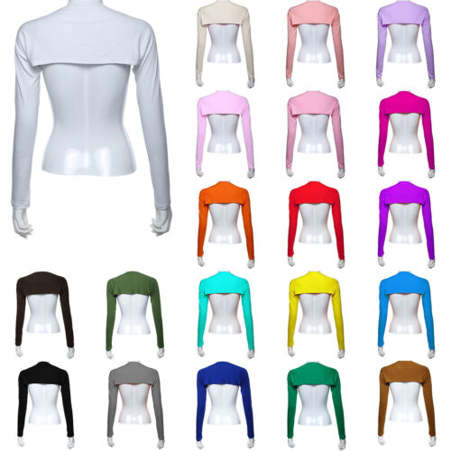 Details about  /Ramadan Womens One Piece Sleeve Arm Cover Shrug Cropped Hijabs Muslim Solid Tops