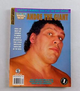 andre the giant spotlight magazine wwf wrestling limited rare 2