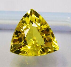 Natural-CERTIFIED-Trillion-Cut-10-Ct-Ceylon-Yellow-Sapphire-Loose-Gemstone