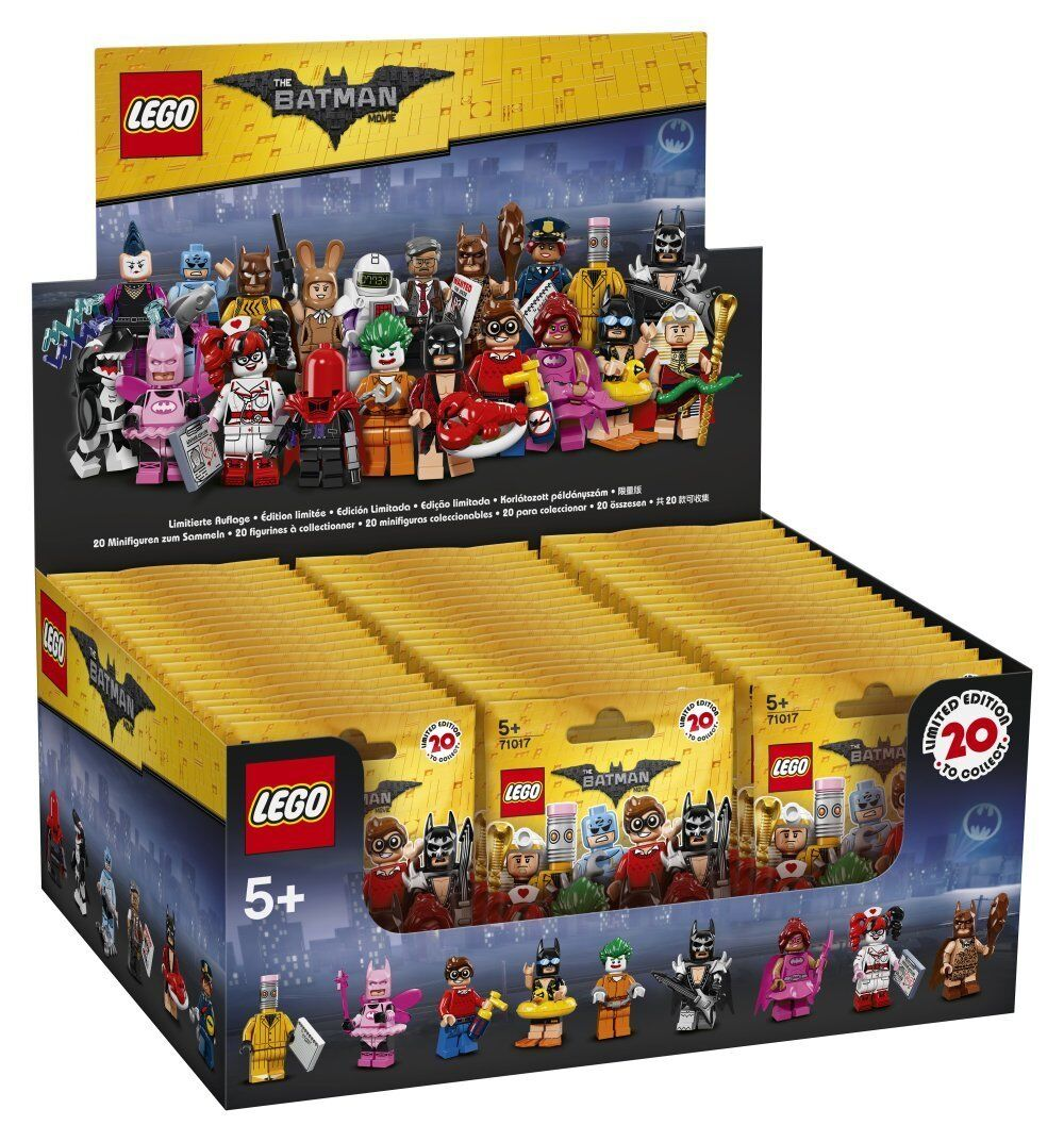 LEGO 71017 - The Lego Batman Movie Display Box mit 60 Minifiguren  NEU&OVP