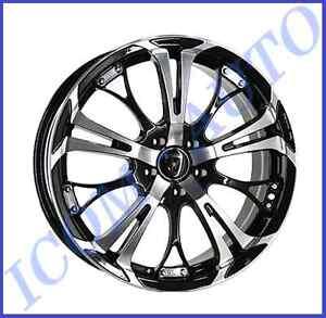 4 X Jantes 17 Pouces Inter Action Poison 7 X 17 Audi Peugeot Renault Seat Vw Ebay
