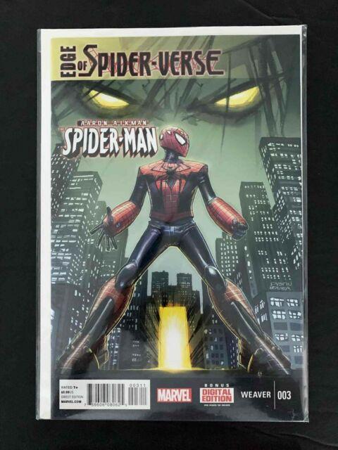 EDGE OF SPIDER-VERSE  #3  MARVEL COMICS 2014 VF/NM