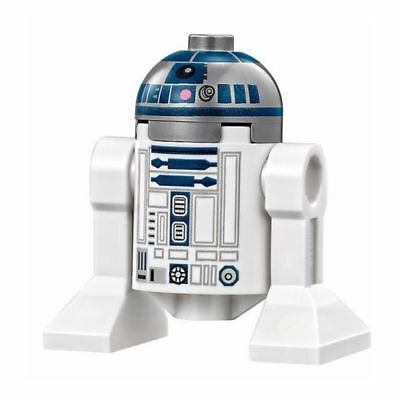 LEGO Star Wars R2-D2 MiniFigure Set 75136 Flat Silver Head, Lavender Dots